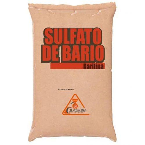 baritina, bario