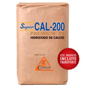 cal apagada, cal, hidroxido de calcio, super cal 200 P2